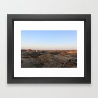 The West Framed Art Print