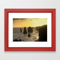 Evolutionary History Of… Framed Art Print