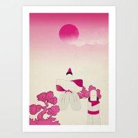 M A D E I N J A P A N # … Art Print