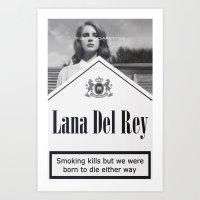 Smoking Kills Art Print