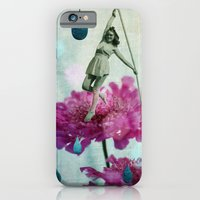 iPhone Cases featuring walk in the garden by Rosa Picnic