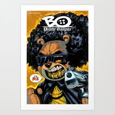 Bo: Plushy Gangsta new art print Art Print