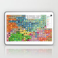 The Periodic Table of TV Animation Laptop & iPad Skin