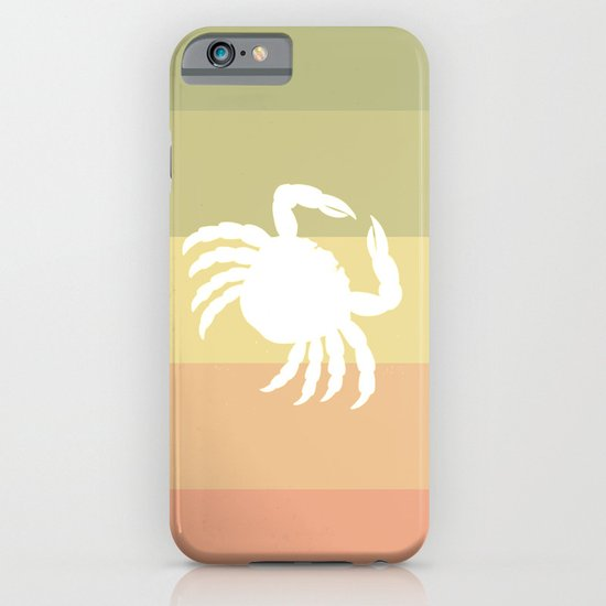 Out At Sea Series - Sideways and Crabby iPhone & iPod Case