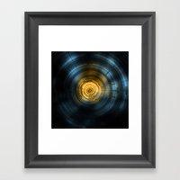 Ctrl.Sci 001: Heavy Ion … Framed Art Print
