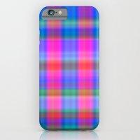 Misty Plaid  iPhone 6 Slim Case