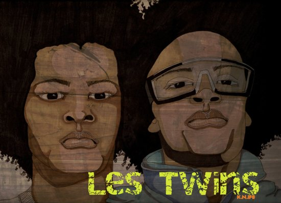 Les Twinz Art Print