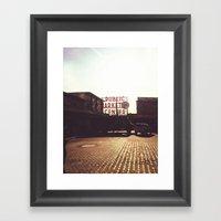 Pike Place Market @ Seat… Framed Art Print