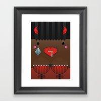 Cookie The Valentine's S… Framed Art Print