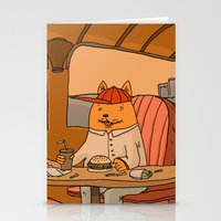 American Fast Food Stationery Cards