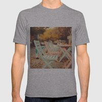 Dream Autumn (Pink And B… Mens Fitted Tee Athletic Grey SMALL