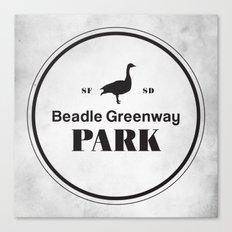 Beadle Greenway Park Canvas Print