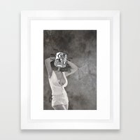 Plugged In Framed Art Print