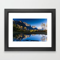 Glacier National Park Framed Art Print