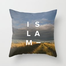 Islam- Poster Throw Pillow