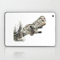 Giraffe - A Long Munch Laptop & iPad Skin