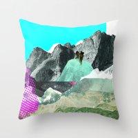 Experiment Am Berg 8 Throw Pillow