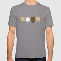 Life Is S'more Fun Toget… Mens Fitted Tee Tri-Grey SMALL