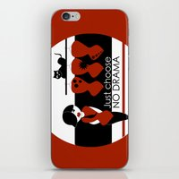No Dramas! iPhone & iPod Skin
