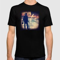 BREAKING BAD 3 Mens Fitted Tee Black SMALL