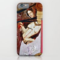 iPhone & iPod Case featuring Deathgown by moca garcia
