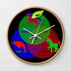 Magic Sparkles & Love Wall Clock