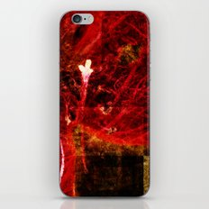 Astral flower iPhone & iPod Skin