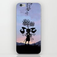 Poison Ivy Kid iPhone & iPod Skin