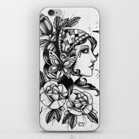 Gipsy Girl - TATTOO iPhone & iPod Skin