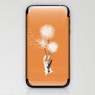 Bunny And Dandelion Bouq… iPhone & iPod Skin