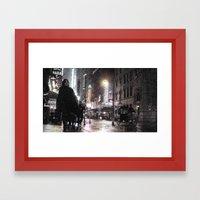 Rosie O's By Times Squar… Framed Art Print