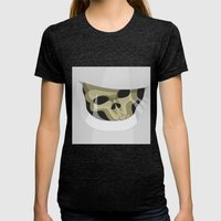 Impossible Astronaut - Doctor Who Womens Fitted Tee Tri-Black SMALL
