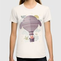 dream big Womens Fitted Tee Natural SMALL
