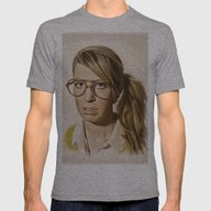 I.am.nerd. : Lizzy Mens Fitted Tee Athletic Grey SMALL