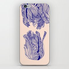 Dark tulip iPhone & iPod Skin