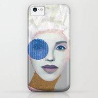 Blue Eyes iPhone 5c Slim Case