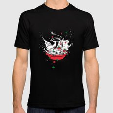 Cereal Killa Mens Fitted Tee SMALL Black