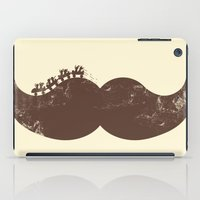 Mustache Ride iPad Case