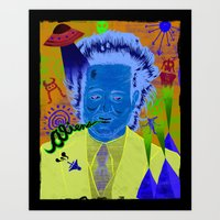Giorgio A. Tsoukalos (ancient aliens guy) Art Print