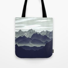 Mountains are calling for us Tote Bag