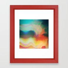 Glitch 01 Framed Art Print