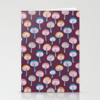 Pattern Project #41 / Mushrooms Stationery Cards
