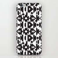 Black & White Caleido iPhone & iPod Skin