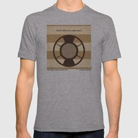 No055 My O Brother Where… Mens Fitted Tee Athletic Grey SMALL
