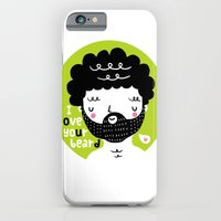 iPhone & iPod Case featuring I Love your Beard by Pinkrain
