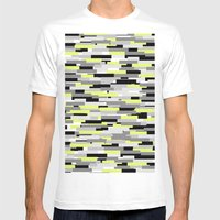 Swedground Mens Fitted Tee White SMALL