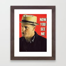 The Mentalist Framed Art Print