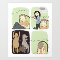 The Song Ruiner - Comic Art Print