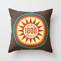 Pinball Points Throw Pillow