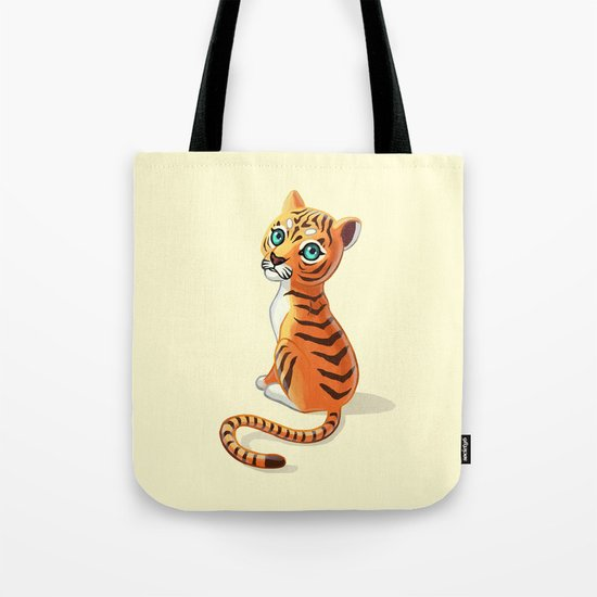 Tiger Cub Tote Bag
